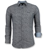 Gentile Bellini Camisetas Exclusivas Hombre - Pointed Star Blusa - 3015 - Azul