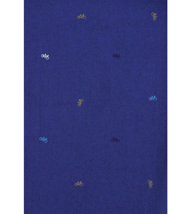 Gentile Bellini Camisas Slim Fit Para Hombre -  Bicycle Blusa Hombres - 3017 - Azul