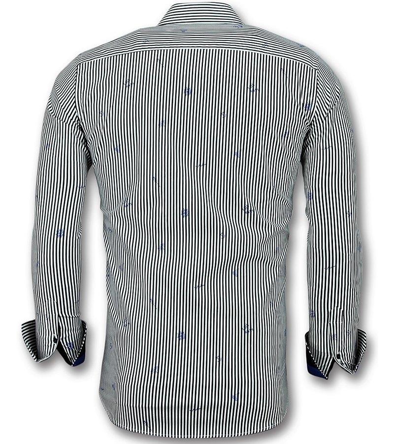 Gentile Bellini Comprar Camisas Hombre Online - Camisa a Rayas - 3026 - Blanco