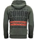 Local Fanatic Chandal Hombre -  Mcgregor Notorious Sport - Verde