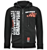 Local Fanatic Chandal Hombre - Muhammad Ali Sport - Negro