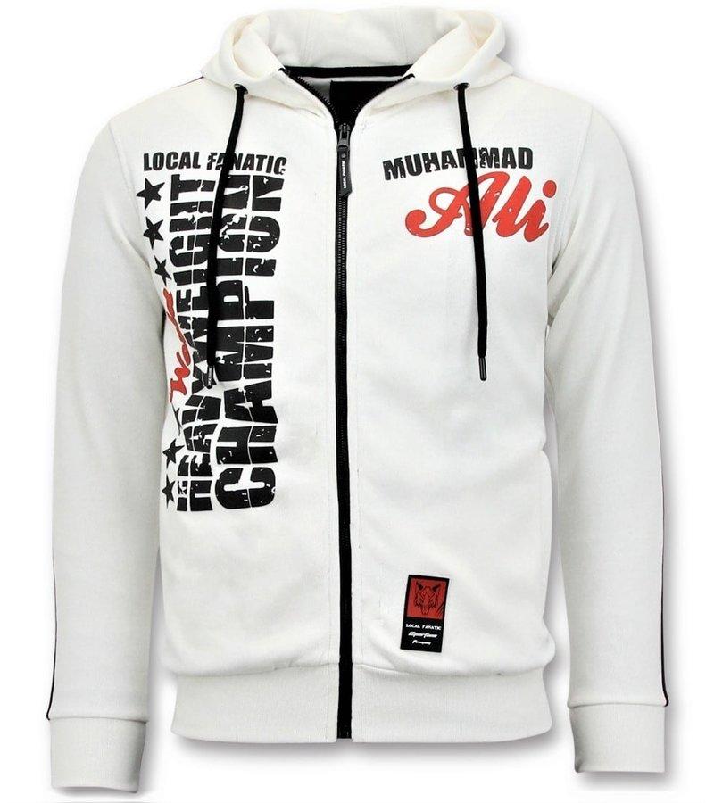 Local Fanatic Chandal Hombre - Muhammad Ali Sport - Blanco