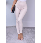 CATWALK Ayana estampado animal Pantalones - Mujer - Beige