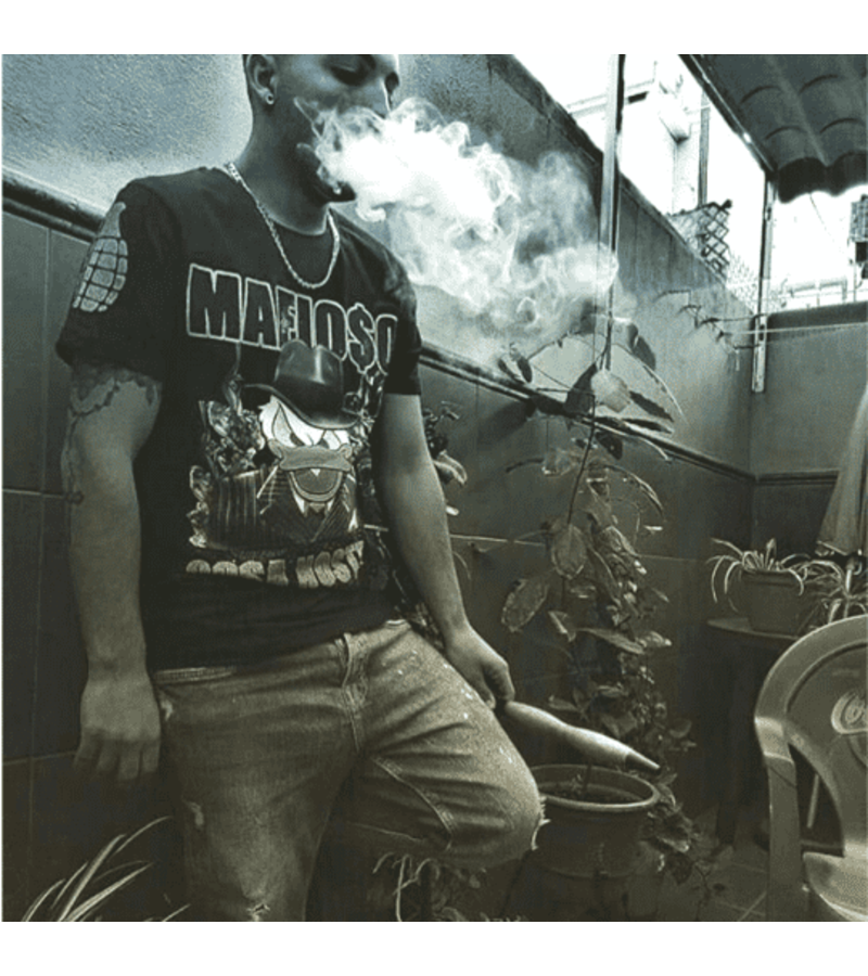 Local Fanatic Camiseta exclusiva Hombre - Cosa Nostra Mafioso - Negro