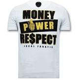Local Fanatic Tough Hombres camiseta - Cosa Nostra Mafioso - Blanco
