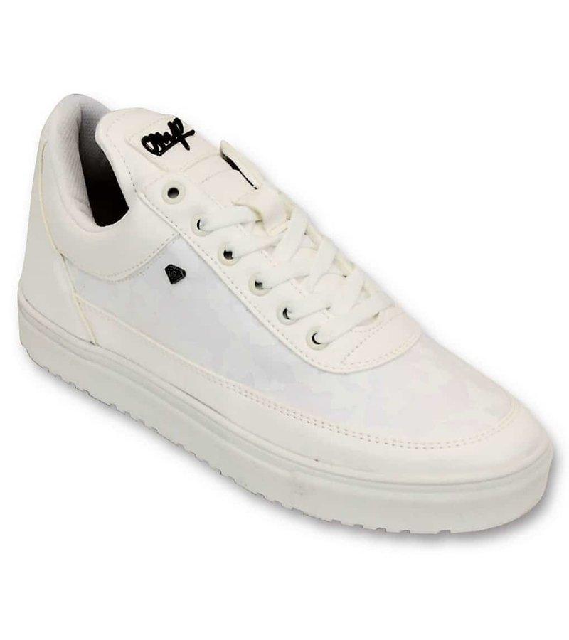 Cash Money Zapatos para hombre - Caso Ejército Blanco completa - CMS11 - White