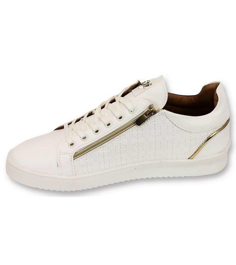 Cash Money Zapatos para hombre - Maya por completo blanco - CMS97 - White