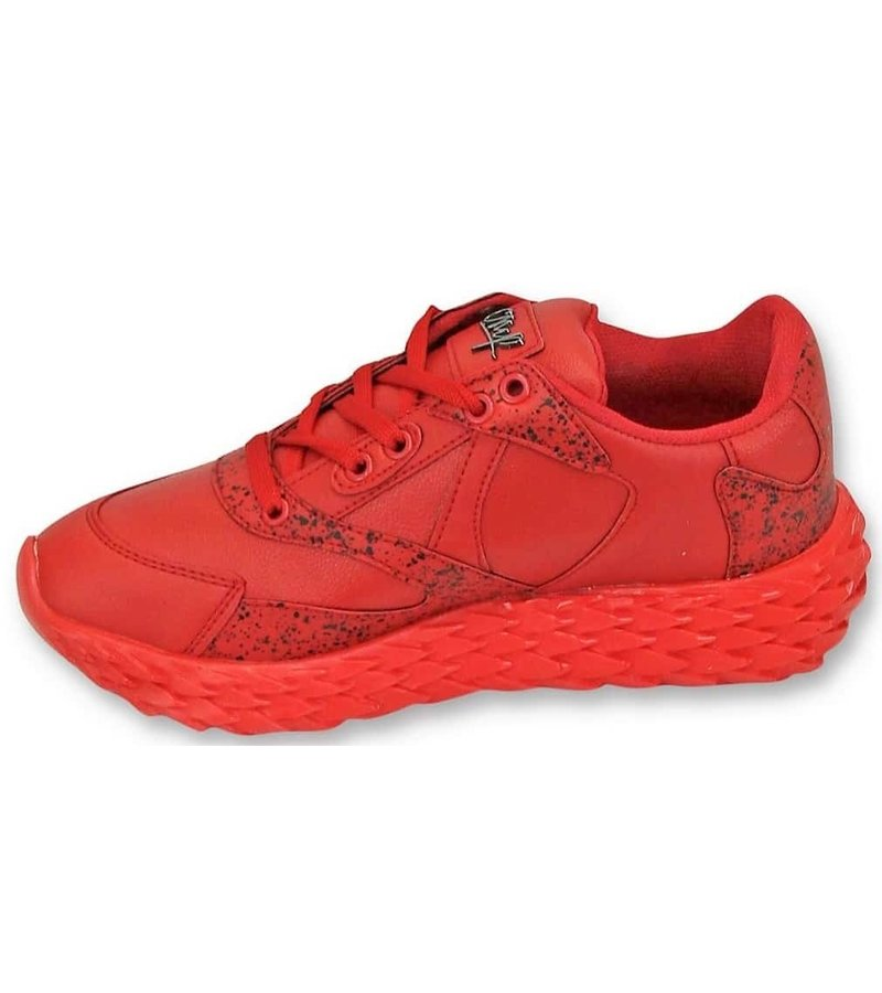 Cash Money Zapatos para hombre - Red Touch - CMS181 - Red