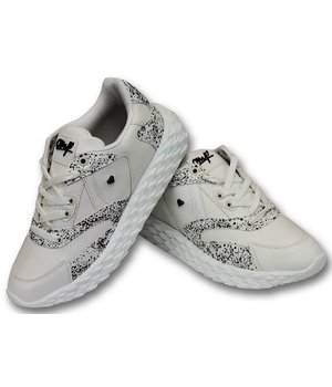 Cash Money Zapatos para hombre - Touch Blanco- CMS181 - Blanco