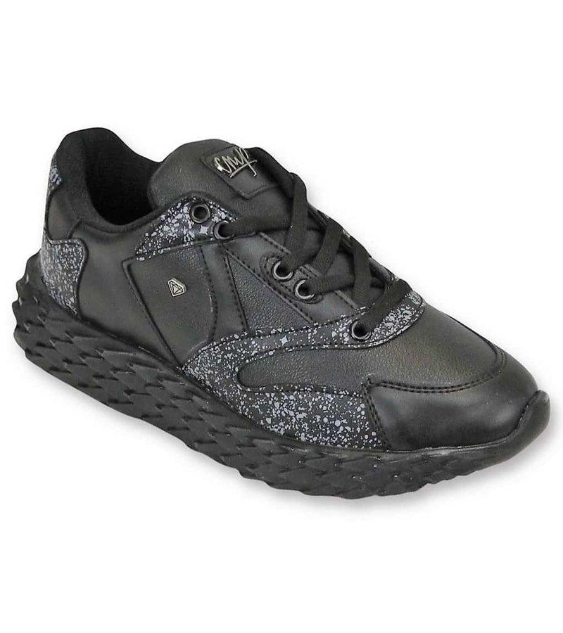 Cash Money Zapatos para hombre - Negro Touch - CMS181 - Negro