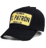 Enos Gorra de béisbol de los hombres - El Patrón Amarillo - Negro