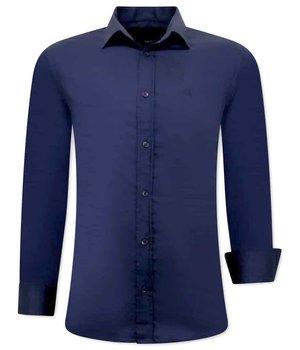 Gentile Bellini Camisa Clasica Hombre - 3081 - Azul