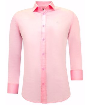 Tony Backer Camisa Clasica Hombre - 3071 - Rosa