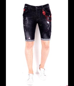 Local Fanatic Pantalones Cortos Hombre -1021- Negro