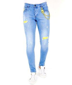 Local Fanatic Pantalones Rotos Hombre - 1024 - Blauw