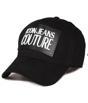 Enos Gorra Para Hombre ICON Jeans Couture - Negro