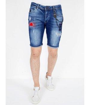Local Fanatic Pantalones Cortos Hombre Baratos - 1041 - Azul