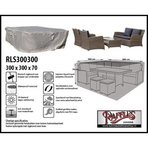 Loungeset cover, 300 x 300 H: 70 cm