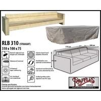 Hoes voor XL loungebank, 310 x 100 H: 75 cm