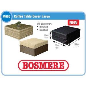 Hoes tafel loungeset, 93 x 93 H: 28 cm