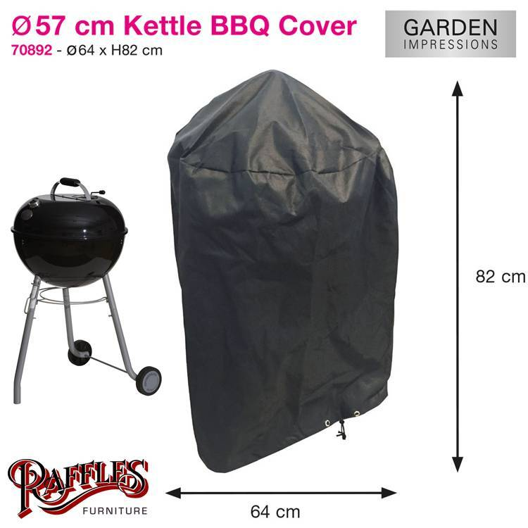 Hoes Voor Bbq.Ronde Barbecue Hoes 57 Cm