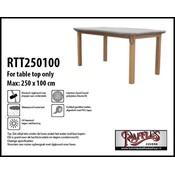 Raffles Covers Hoes voor tafelblad 250 x 100 cm