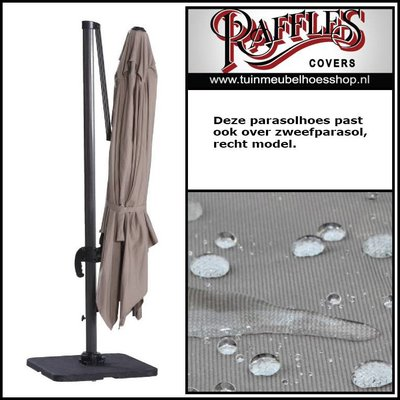 Raffles Covers Parasol hoes met stok H:310 cm