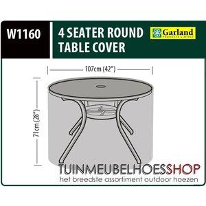 Hoes voor ronde tafel, Ø: 107 H: 71 cm