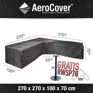 Hoes voor loungebank hoek, 270 x 270 H: 70 cm