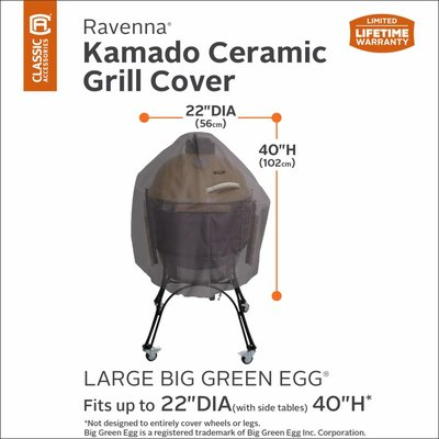 Kamado Large hoes Ø 56 H: 102 cm o.a. Big Green Egg