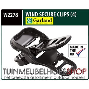 Wind Secure Clips, Wind Klemmen,