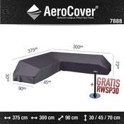 AeroCover Platformhoes voor een hoekbank 375 x 300 x 90 H: 30/45/70 cm