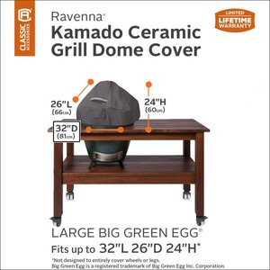 Hoes voor Big Green Egg Large, 81 x 66 H: 61 cm