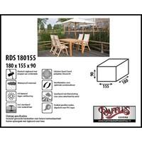 Hoes voor tuintafel met stoelen, 180 x 155 H: 90 cm