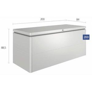 Grote Biohort loungebox, 200 x 84 H: 88,5 cm