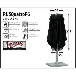 Hoes voor P6 horecaparasol met 4 doeken, H: 215 cm