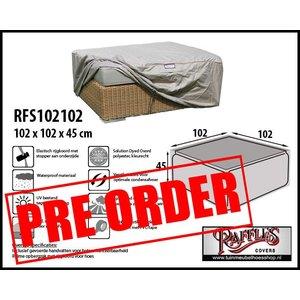 !!PRE-ORDER!! Loungetafel hoes, 102 x 102 H: 45 cm