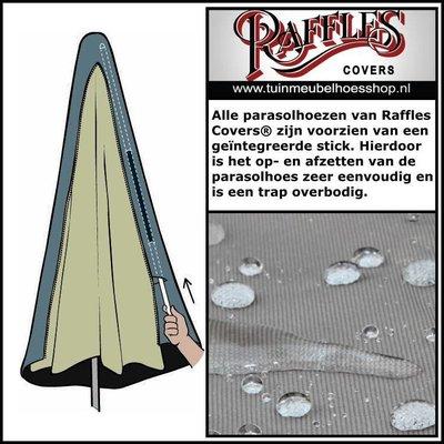 Raffles Covers Hoes voor een hangparasol, H: 280 cm