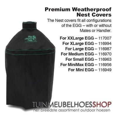 Big Green Egg Hoes voor Big Green Egg MX , Mini Max diam: 60 H: 60 cm