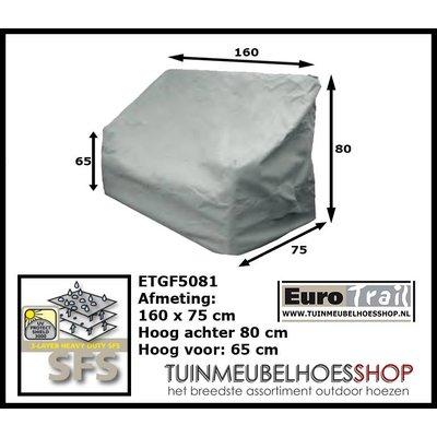 EuroTrail Bankhoes tuinbank 160 x 75 H: 80 cm