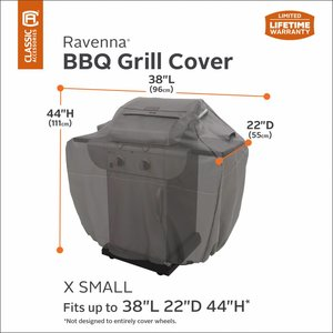 Hoes voor XSmall Gas-BBQ, 96 x 55 H: 111 cm