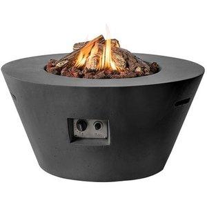 Hoes Happy Cocooning Cone of Bowl vuurtafel, ⌀ 98 H: 50 cm