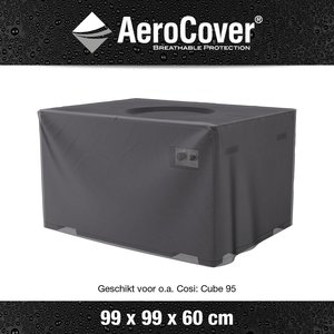 Hoes vuurtafel Cosi Fires Cube 95, 99 x 99 cm H: 60 cm