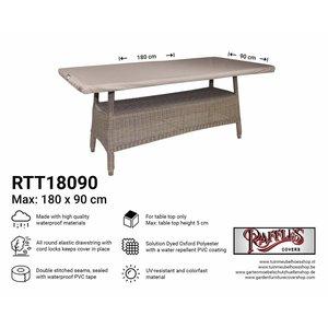 Afdekhoes tafelblad, 180 x 90 cm