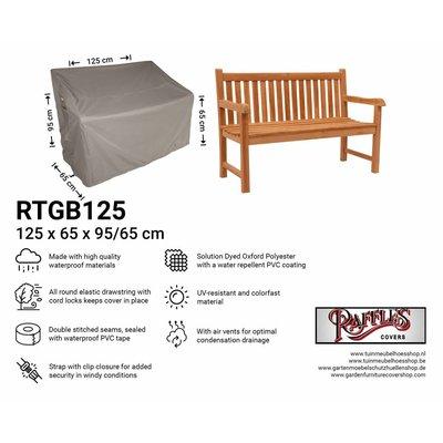 Hoes voor tuinbank 125 x 65 H:95/65cm