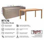 Raffles Covers Tuintafel beschermhoes 170 x 95 H: 75 cm