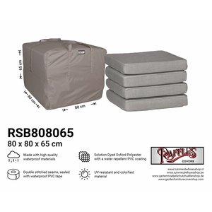 Loungekussen tas, 80 x 80 H: 65 cm