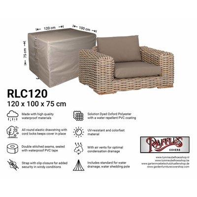 Loungestoelhoes 120 x 100 H: 75 cm