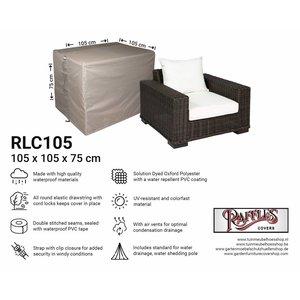 Loungestoel afdekhoes, 105 x 105 H: 75 cm
