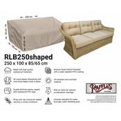 Raffles Covers Hoes loungebank 250 x 100 H: 85 / 65 cm